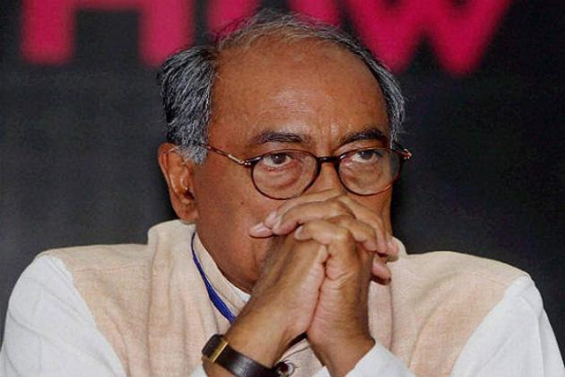 دگ وجے پر گری گاج، گوا اور کرناٹک کے انچارج کے عہدوں سے ہٹائے گئے، بولے: میں گاندھی خاندان کا وفادار