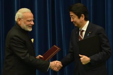 ہندوستان اور جاپان کے درمیان دو طرفہ تعلقات کو فروغ دینے کیلئے بات چیت