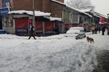 برف باری کے باعث سڑکوں پر گاڑیوں اور راہگیروں کی نقل وحرکت جبکہ بجلی کی ترسیل اور ڈش ٹی وی سروس متاثر ہورہی ہے۔ پیر کی صبح جب اہلیان وادی نیند سے اٹھے تو کھلے میدانی، مکانوں و عمارتوں کی چھتوں اور درختوں نے برف کی سفید چادر اوڑھ لی تھی۔ برف باری کے پیش نظر بیشتر لوگوں نے اپنے گھروں میں ہی رہنے کو ترجیح دی۔
