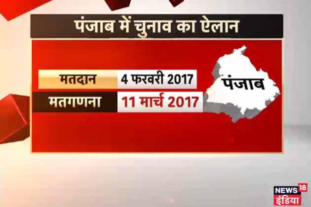 پنجاب میں 4 فروری کو ووٹ ڈالے جائیں گے۔