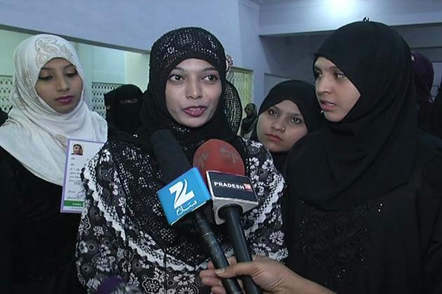 ادارے کے پہلےسالانہ اجلاس کےموقع پرکورس مکمل کرنے والی لڑکیوں کوسرٹیفکیٹ سے نوازاگیا۔