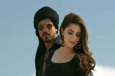 شاہ رخ خان کی فلم رئیس  جلد ہی ریلیز ہونے والی ہے۔ فلم میں شاہ رخ کے ساتھ پاکستانی آرٹسٹ ماهرہ خان اہم کردار میں ہیں۔ ٹریلر میں دونوں کی کیمسٹری انتہائی شاندار نظر آرہی ہے۔ (فلم اسٹل)۔