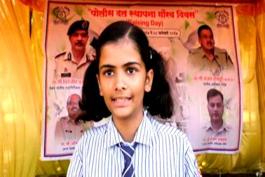 طلبہ نے پولیس کے جوانوں کی بہادری کا نظارہ دیکھ کر نہ صرف خوشی کا اظہار کیا بلکہ پولیس محکمہ میں شامل ہونے کے عزم کا بھی اظہار کیا ۔