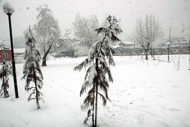 محکمہ موسمیات کی وادی کشمیر میں اگلے تین دنوں کے دوران درمیانہ سے بھاری درجے کی برف باری کے پیش نظر کشمیر یونیورسٹی نے 26 جنوری تک لئے جانے والے تمام امتحانات ملتوی کردیے ہیں۔