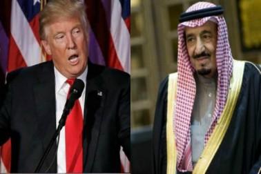 ڈونالڈ ٹرمپ اور شاہ سلمان کے درمیان اسلحہ معاہدہ میں جزوی ترمیم کے لئے امریکی سنیٹ میں قرارداد پیش
