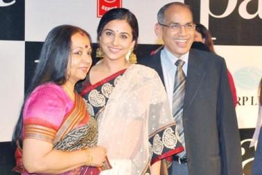 ممبئی کے چیمبور میں تمل کنبہ میں یکم جنوری 1979 کو پیدا ہوئی ودیا کے والد پی آر بالن ایک کمپنی کے ایگزیکٹو وائس پریزیڈنٹ ہیں اور ان کی ماں سرسوتی بالن ایک گھریلو خاتون ہیں۔