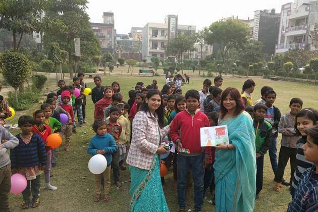 بچوں کی حوصلہ افزائی ہو اس کے لئے بہترین پینٹنگ بنانے والوں کو ایوارڈ بھی دیئے گئے۔ الگ الگ زمرہ میں فرسٹ، سیکنڈ اور تھرڈ کا انتخاب کیا گیا اور انہیں انعام دیا گیا۔