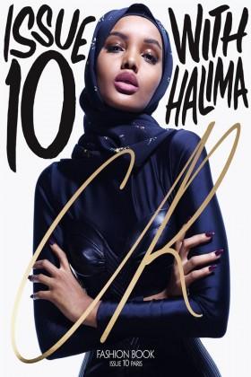 حلیمہ پہلی ایسی ماڈل ہیں،جن کی تصویر 'سی آر فیشن بک کے کور پیج پر آ چکی۔ حلیمہ کا کہنا ہے کہ جب وہ حجاب میں کوور پیج پر آئی ،تو ان پر کافی دباؤ تھا۔بہت سے لوگوں نے ان سے پوچھا کہ کیا تم مسلمان ہو۔
