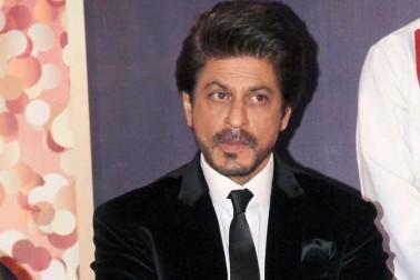 شاہ رخ خان نے یوارڈ ملنے پر خوشی کا اظہار کیا۔ تصویر : آشیش ویشنو / انڈس امیج۔