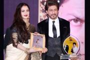 شاہ رخ خان کو ریکھا کے ہاتھوں ملا چوتھا یش چوپڑا میموریل ایوارڈ