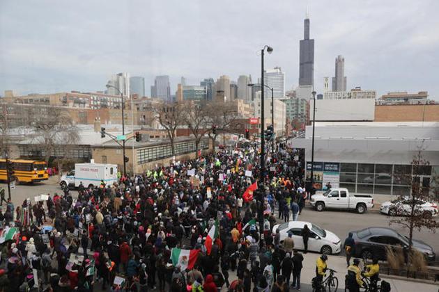 نیشنل ریسٹورنٹ ایسوسی ایشن نے واک آؤٹ پر نکتہ چینی کی اور کہا کہ احتجاج کرنےو الے محنتی امریکیوں کے کام میں خلل ڈال رہے ہیں۔