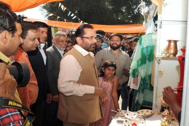 مسٹر نقوی نے کہا کہ اگلا ہنر ہاٹ جلدہی ممبئی میں منعقد کیا جائے گا۔