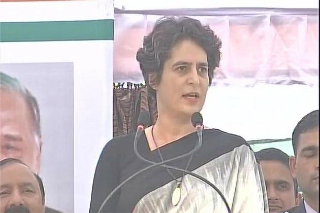 پرینکا گاندھی کا وزیر اعظم مودی کو جواب ، یوپی کا ہر لڑکا ایک لیڈر ، باہری کی ضرورت نہیں