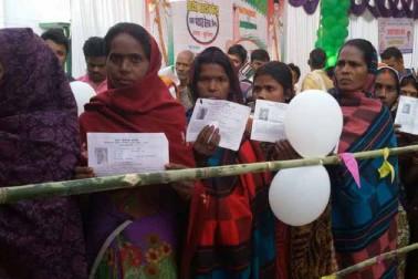 کشی نگر میں صبح سے ہی عورتوں میں ووٹنگ کو لے کر جوش وخروش نظر آیا۔