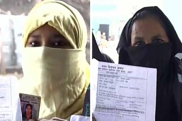 ووٹنگ کو لے کر مسلم خواتین میں بھی نظر آئی خاصی بیداری۔