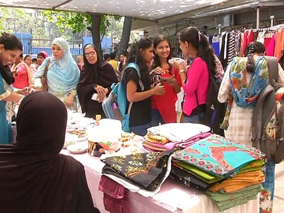 میلے سے چھوٹے پیمانے پر کاروبار کرنے والی گھریلو خواتین کواپنے کاروبار کو منظر عام پرلانے کا بہترین موقع ملا۔