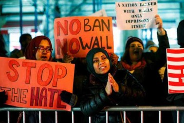 وائٹ ہاؤس نے امریکی سپریم کورٹ سے مکمل سفری پابندی کی سفارش کی