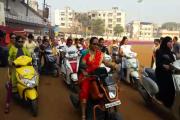 عالم یوم خواتین : بھیونڈی میں خواتین نے
