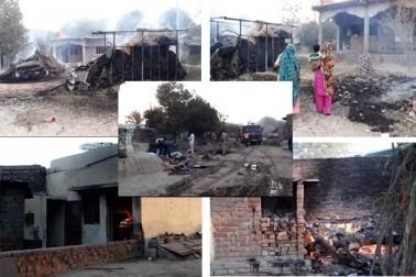 گجرات کے شمالی ضلع پاٹن کے ایک گاؤں میں طلبہ کے درمیان معمولی بات پرکہا سنی نے فرقہ وارانہ تنازع کی شکل اختیار کرلی اور دیکھتے ہی دیکھتے دو فرقے کے لوگ آمنے سامنے آگیا۔ اس تشدد میں دو شخص کی موت ہوگئی جبکہ 50 سے زائد گھروں کو نذر آتش کردیا ہے۔