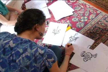 لکھنؤ کے شیش محل میں غیر ملکی طلبہ کو خطاطی اور خوشنویسی سکھانے کے مقصد سے اہم پیش رفت کی گئی ہے۔ ادارہ  علم وہنر کی جانب سے اردو کے ساتھ ساتھ اب طلبہ کو ان فنون سے بھی واقف کرایا جائے گا ، جو گزرتے وقت کے ساتھ اپنا وجود کھوتے جارہے ہیں ۔