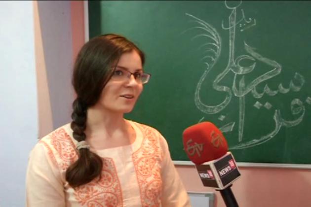 ایسے حالات میں ادارہ علم وہنر نے غیرملکی طلبہ وطالبات کو خوشخطی سکھانے کا فیصلہ کیا ہے ۔