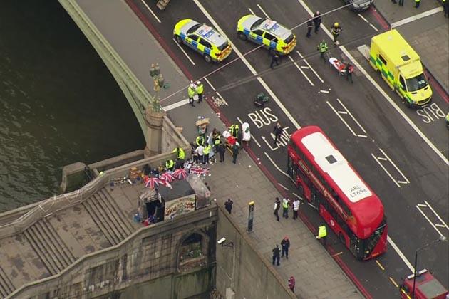 لندن میں دہشت گردانہ حملہ