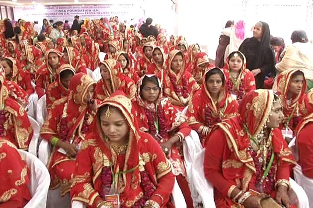 فرقہ وارانہ ہم آہنگی: دوہندو جوڑوں سمیت 201 مسلم جوڑوں کی اجتماعی شادی کا اہتمام