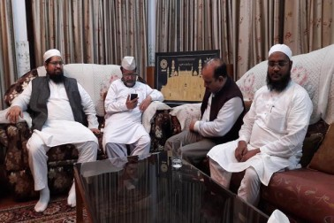 یوپی میں نئی حکومت: مسلمانوں سے مایوس نہ ہونے کی وزیر داخلہ راجناتھ سنگھ کے ایلچی کی اپیل