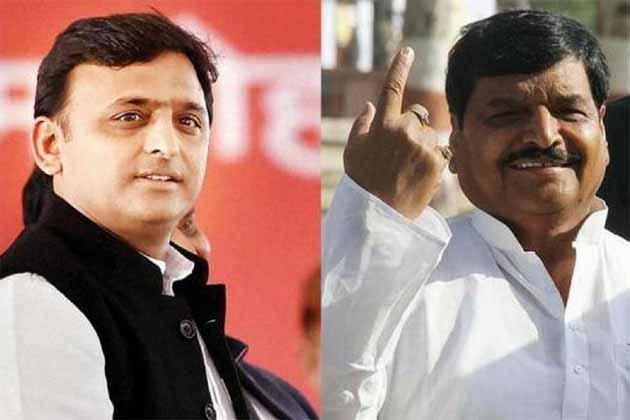 یوپی اسمبلی الیکشن نتائج : شیوپال سنگھ کا اکھلیش یادو پر نشانہ ، کہا : ایس پی کی نہیں بلکہ گھمنڈ کی شکست ہے