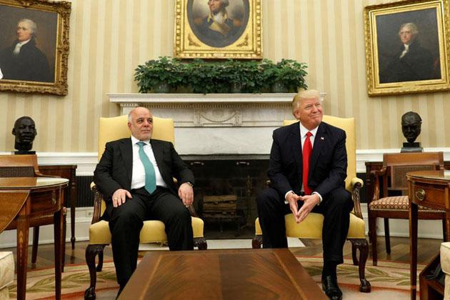پابندی ہٹائے جانے پر عراقی وزیر اعظم کا ٹرمپ کا شکریہ