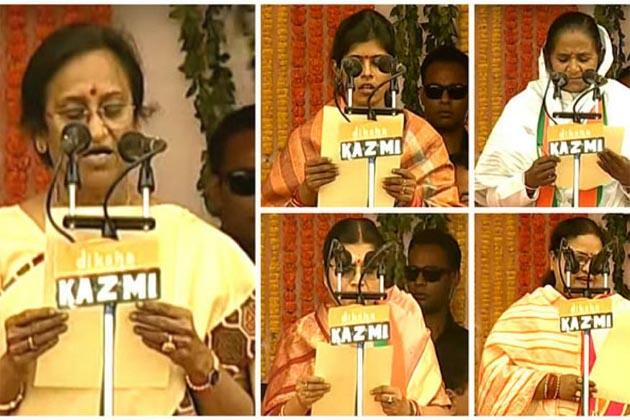 وزیر اعلی یوگی آدتیہ ناتھ کی پہلے کابینہ میں اس وجہ سے ملی پانچ خواتین کو جگہ