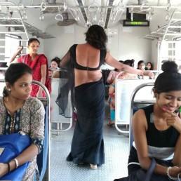 سینٹرل لائن کی لوکل ٹرینوں میں ٹرانس جینڈرس کی اپنی ایک دنیا ہے اور ان کی زندگی کے اپنے رنگ ہیں۔ ماٹنگا روڈ اسٹیشن سے گزرتی ایک لوکل ٹرین ۔