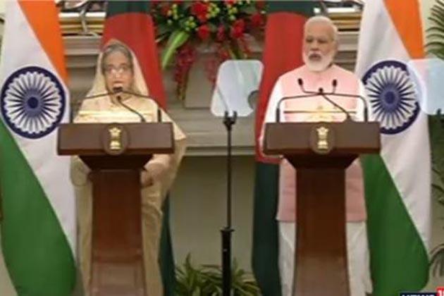 بنگلہ دیش کو ہندوستان دے گا پانچ ارب ڈالر کا قرض ، جوہری معاہدہ سمیت 22 سمجھوتوں پر دستخط