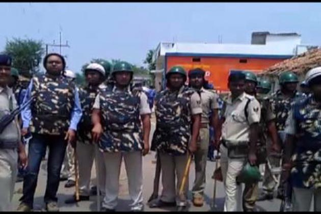 دربھنگہ میں شوبھاياترا کو لے کر فرقہ وارانہ تشدد ، پتھراو میں متعدد زخمی ، 25 گرفتار ، سیکورٹی سخت