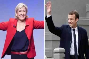 فرانس میں صدارتی انتخابات میں پین اور میكران دوسرے دور میں