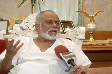 سوشل میڈیا پر سابق مرکزی وزیر سی کے جعفر شریف کے انتقال کی خبر جھوٹی نکلی