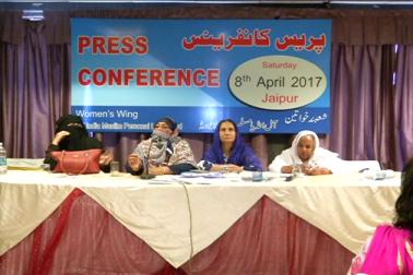 انہوں نے کہا کہ اعداد و شمار کے مطابق ملک میں طلاق کی شرح سب سے کم مسلمانوں میں ہیں ۔