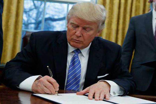 ویزا پروگرام میں تبدیلی کے حکم پر ٹرمپ کے دستخط کرنے کا امکان