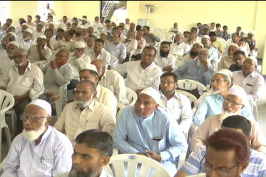 برادران وطن کے بیچ جانے سے پہلے ارکان کو مسلم پرسنل لا کے تعلق سے دی گئی تربیت