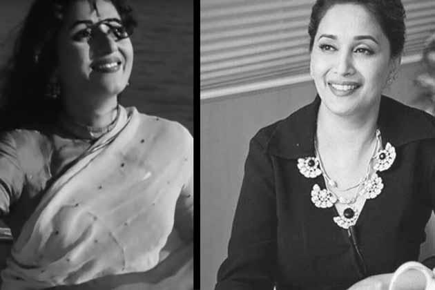 مادھوری دکشت نے اپنے فلمی کیریئر کا آغاز 1984 میں راج شری پروڈکشن کے بینر تلے بنی فلم 'معصوم' سے کیا لیکن کمزورا سکرپٹ اور ہدایت کی وجہ سے فلم باکس آفس پر بری طرح ردکردی گئی۔سال1984 سے 1988 تک وہ فلم انڈسٹری میں اپنی جگہ بنانے کیلئے جدوجہد کرتی رہیں۔ 'معصوم' کے بعد انہیں جو بھی کردار ملا وہ اسے قبول کرتی چلی گئیں۔