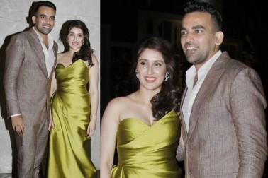 ٹیم انڈیا کے سابق فاسٹ بولر ظہیر خان اور بالی وڈ اداکارہ ساگركا گھاٹگے نے اپنی منگنی کی خبر کچھ دن پہلے ہی دی تھی۔ جس میں ساگركا اپنی منگنی کی انگوٹی دکھاتی نظر آ رہی تھیں۔