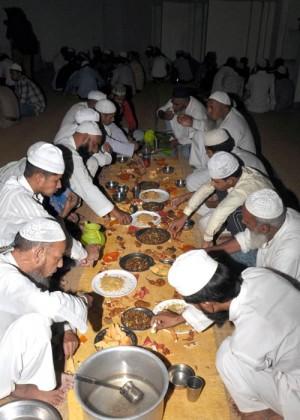 لکھنو میں رمضان کا ایک منظر