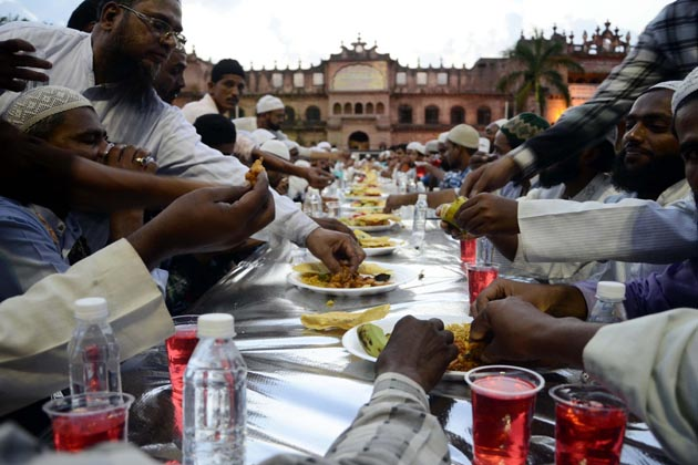 بھوپال میں رمضان کا ایک منظر