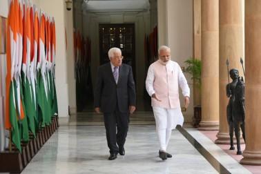 """مسٹر نریندر مودی نے اپنے بیان میں فلسطین مسئلے کے تئيں ہندوستان کی حمایت کا اعادہ کرتے ہوئے کہا کہ"""" ہمیں امید ہے کہ ایک خود مختار، آزاد، مستقل اور قابل عمل فلسطینی ریاست قائم ہوگی اور وہ اسرائیل کے ساتھ پرامن طریقے سے بقائے باہمی کے جذبے سے رہے گی۔"""