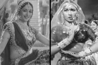 سال 1990 میں مادھوری دکشت کے فلمی کیریئر کی ایک اور اہم فلم 'دل' ریلیز ہوئی۔ فلم میں مادھوری دکشت اور عامر خان کی جوڑی کو شائقین نے کافی پسند کیا۔ فلم باکس آفس پر سپر ہٹ ثابت ہوئی ساتھ ہی فلم میں اپنی بااثر اداکاری کے لیے مادھوری دکشت کو اپنے فلمی کیریئر کا پہلا فلم فیئر ایوارڈ حاصل ہوا۔ فوٹو کریڈٹ: یوٹیوب۔