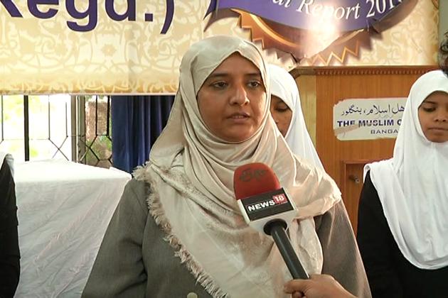 بنگلورو کے یتیم خانہ اہل اسلام کے طلبا کے چہروں پرخوشی جھلک رہی ہے۔