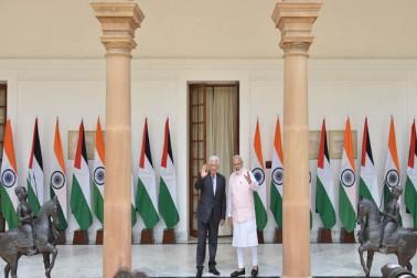 وزیر اعظم نے کہا کہ ہندوستان فلسطین کو ترقی اور صلاحیت سازی کی کوششوں میں مسلسل تعاون دیتا رہے گا۔