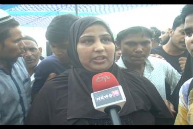 مسلم راشٹریہ منچ کے اس پروگرام میں بڑی تعداد میں مقامی مسلم خواتین نے بھی شرکت کی ۔