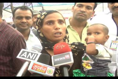 ان میں سے تین طلاق کی شکار کچھ خواتین نے اپنا درد بیان کرتے ہوئے انصاف کا مطالبہ بھی کیا ۔