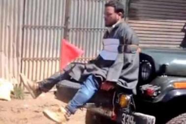 میجر گگوئی نے گاڑی سے فاروق احمد ڈار کو باندھنے کے اپنے اقدام کا دفاع کیا